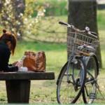 1. Girl & Bike
